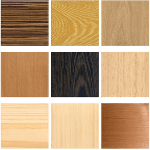 Swatches - wood