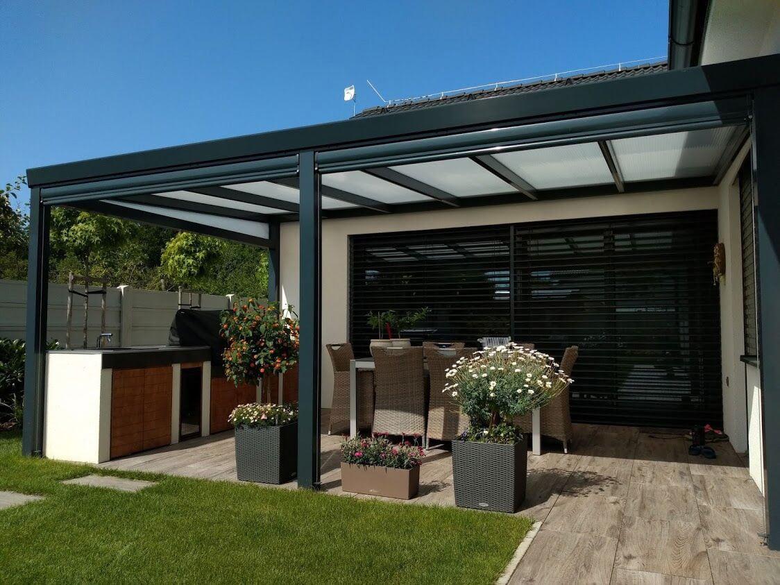 Aluminium Pergolas For Your Garden Gazebo Pergola